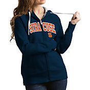 Antigua Women's Syracuse Orange Blue Victory Full-Zip Hoodie