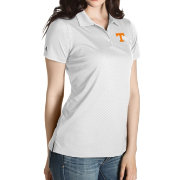 Antigua Women's Tennessee Volunteers Gray Inspire Performance Polo