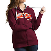 Antigua Women's Virginia Tech Hokies Maroon Victory Full-Zip Hoodie