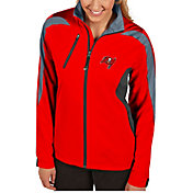 Antigua Women's Tampa Bay Buccaneers Discover Full-Zip Red Jacket
