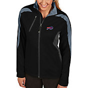 Antigua Women's Buffalo Bills Discover Full-Zip Black Jacket