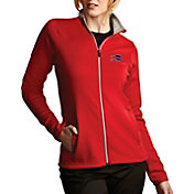 Antigua Women's Buffalo Bills Leader Full-Zip Red Jacket