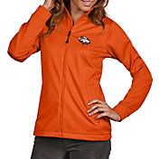 Antigua Women's Denver Broncos Quick Snap Logo Orange Golf Jacket
