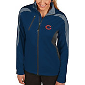 Antigua Women's Chicago Bears Discover Full-Zip Navy Jacket