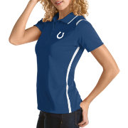 Antigua Women's Indianapolis Colts Merit Royal Xtra-Lite Pique Polo