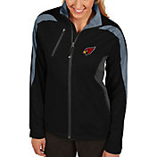 Antigua Women's Arizona Cardinals Discover Full-Zip Black Jacket