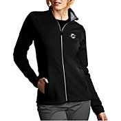 Product Image · Antigua Women s Miami Dolphins Leader Full-Zip Black Jacket cd5d2e8d7