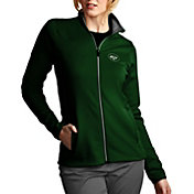 Antigua Women's New York Jets Leader Full-Zip Green Jacket