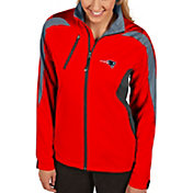 Antigua Women's New England Patriots Discover Full-Zip Red Jacket