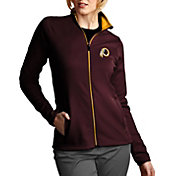 Antigua Women's Washington Redskins Leader Full-Zip Red Jacket