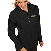 Antigua Women's Baltimore Ravens Discover Full-Zip Black Jacket
