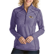Antigua Women's Baltimore Ravens Tempo Purple Quarter-Zip Pullover