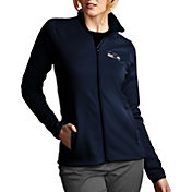 Antigua Women's Seattle Seahawks Leader Full-Zip Navy Jacket