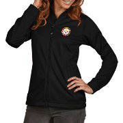 Antigua Women's Pittsburgh Steelers Quick Snap Logo Black Golf Jacket