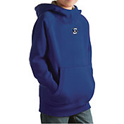 Antigua Youth Creighton Bluejays Blue Victory Pullover Hoodie