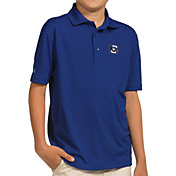 Antigua Youth Creighton Bluejays Blue Pique Polo