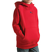 Antigua Youth Dayton Flyers Red Victory Pullover Hoodie
