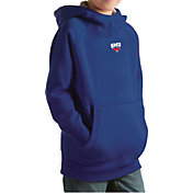 Antigua Youth Southern Methodist Mustangs Blue Victory Pullover Hoodie
