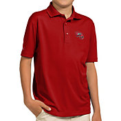 Antigua Youth Western Kentucky Hilltoppers Red Pique Polo