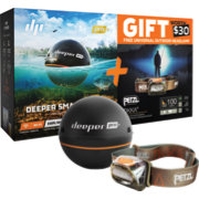 Deeper Pro+ Smart Fish Finder with Headlamp (ITGAM0432)
