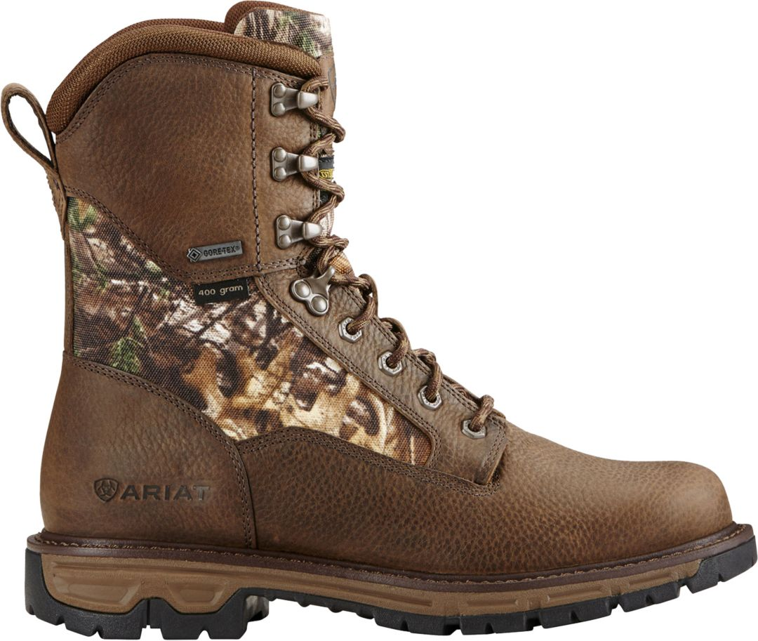 a8eee35748e51 Ariat Men's Conquest Round Toe 8'' 400g GTX Hunting Boots | DICK'S ...