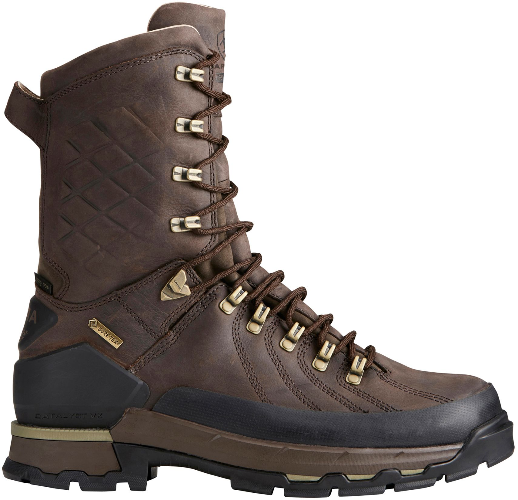 Ariat Men's Catalyst Defiant 10'' 400g GORE-TEX Field Hunting Boots, Size: 8.0, Brown thumbnail