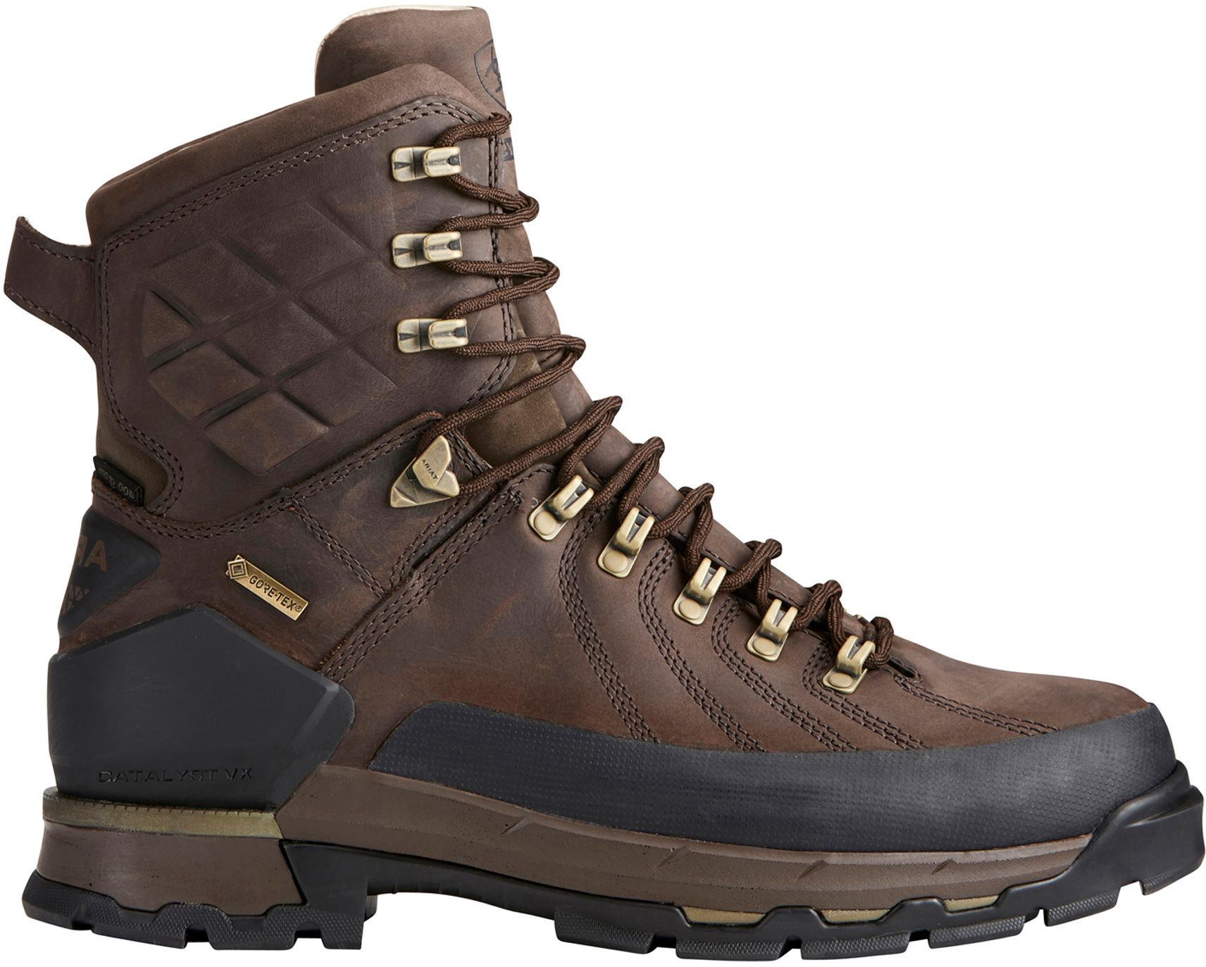 Ariat Men's Catalyst Defiant 8'' 400g GORE-TEX Field Hunting Boots, Size: 8.0, Brown thumbnail