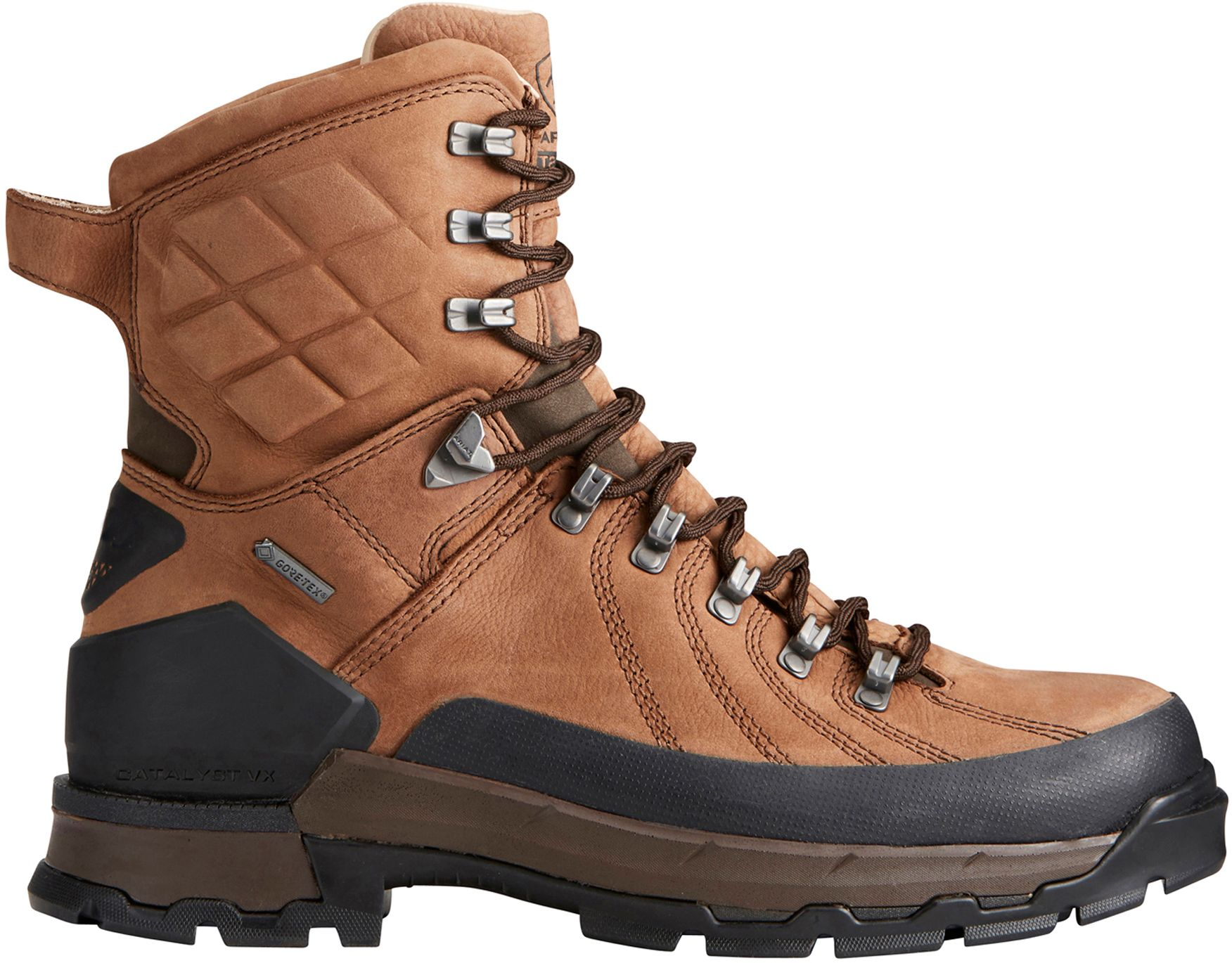 Ariat Men's Catalyst Defiant 8'' GORE-TEX Field Hunting Boots, Size: 8.0, Brown thumbnail