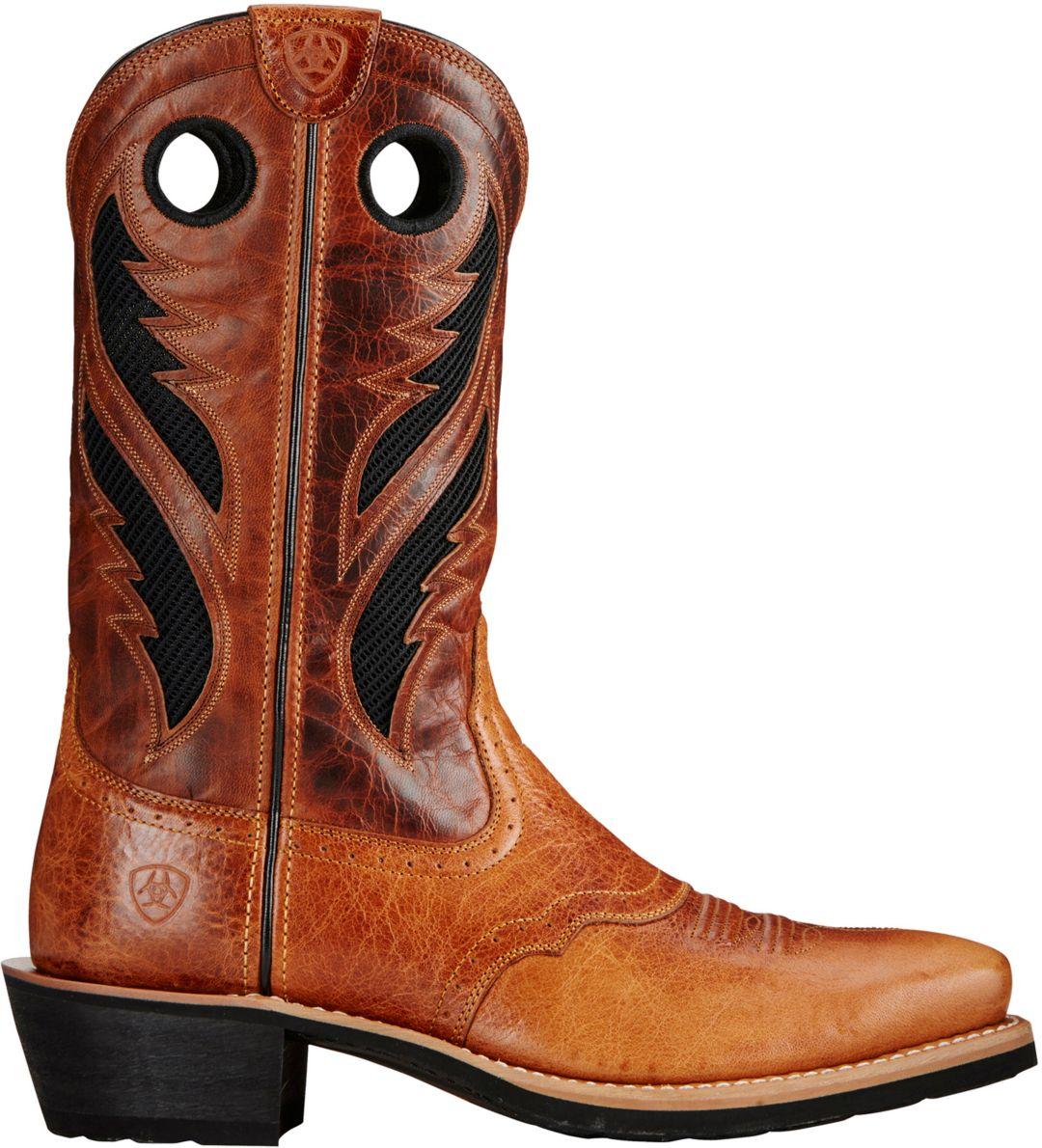 5c6bc1dfcbb Ariat Men's Heritage Roughstock VentTek Western Boots