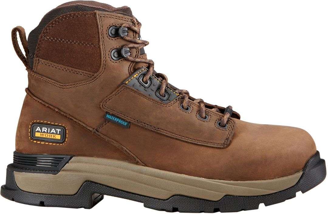 c5cd54bd7a7 Ariat Men's Mastergrip 6'' H2O Waterproof Composite Toe Work Boots