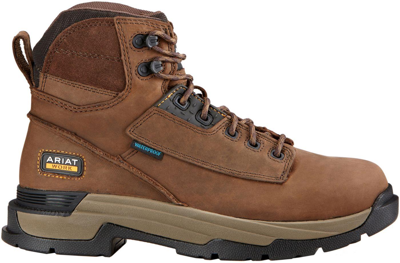 Ariat Men's Mastergrip 6'' H2O Waterproof Work Boots