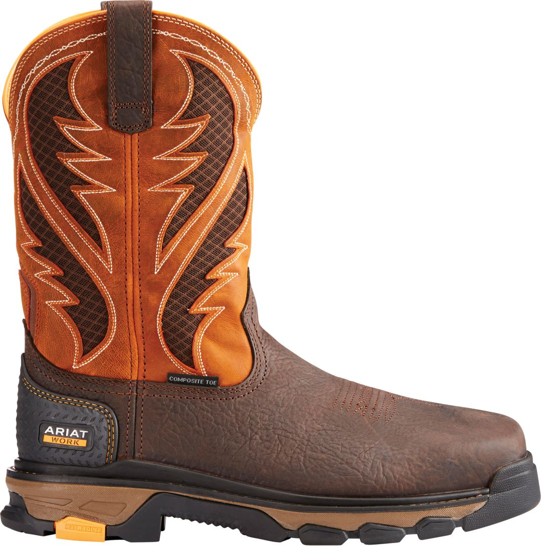 7ac4cf76862 Ariat Men's Intrepid VentTek Composite Toe Western Work Boots