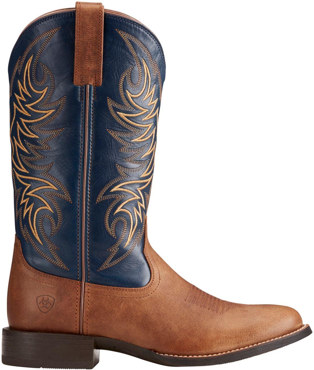 b3efdfec6b4 Ariat Men's Sport Horseman Western Work Boots