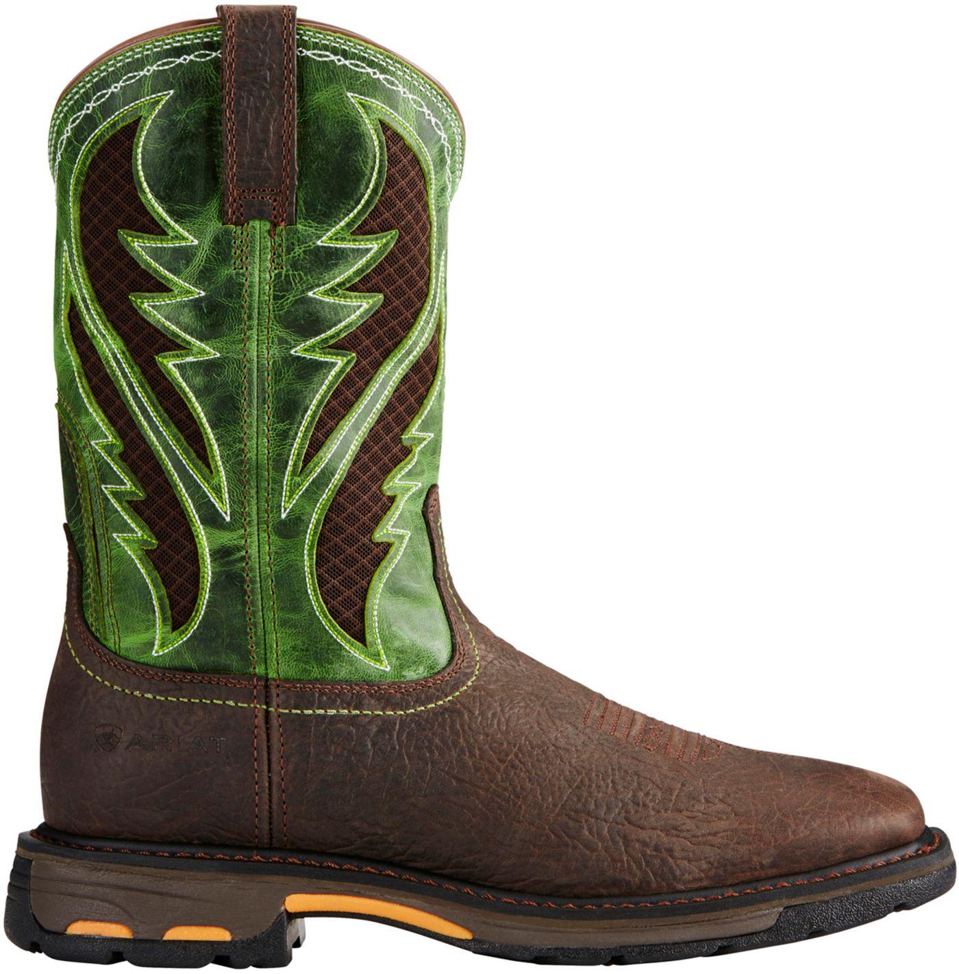 Ariat Men's Workhog VentTek Western Work Boots