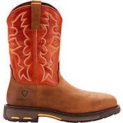 Ariat Men's Workhog Steel Toe Western Work Boots