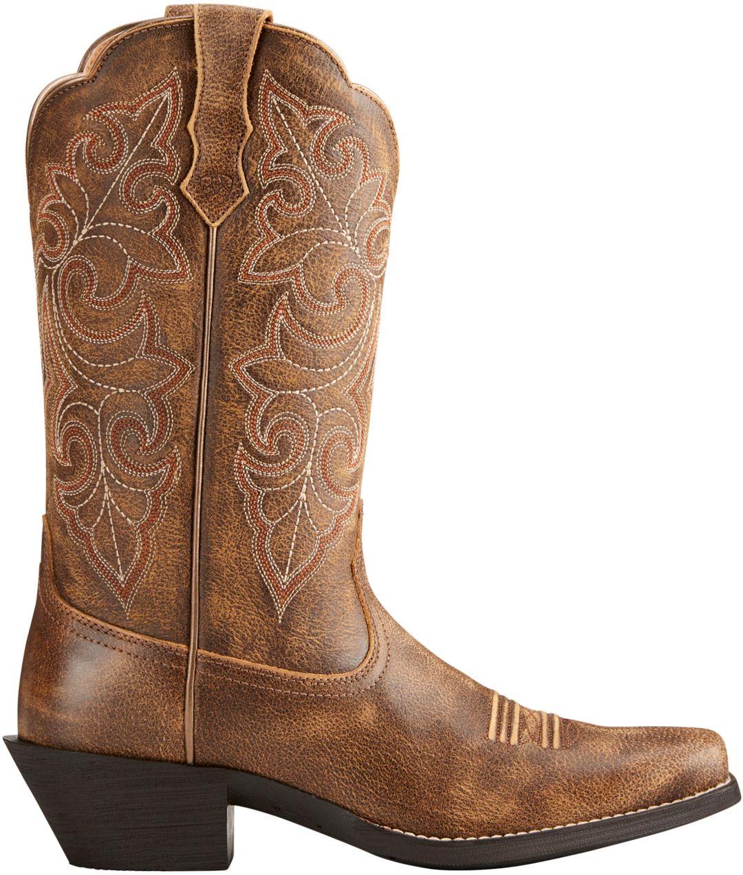 cf648e8e677 Ariat Women's Round Up Square Toe Western Boots