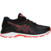 ASICS Women's GT-2000 6 Running Shoes in Black/Coral