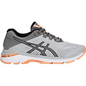 ASICS Women's GT-2000 6 Running Shoes in Grey/Black