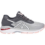 ASICS Women's GT-2000 6 Running Shoes in Grey/Silver