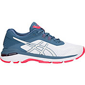 ASICS Women's GT-2000 6 Running Shoes in White/Blue