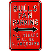Authentic Street Signs Chicago Bulls Parking Sign