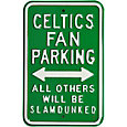 Authentic Street Signs Boston Celtics Parking Sign