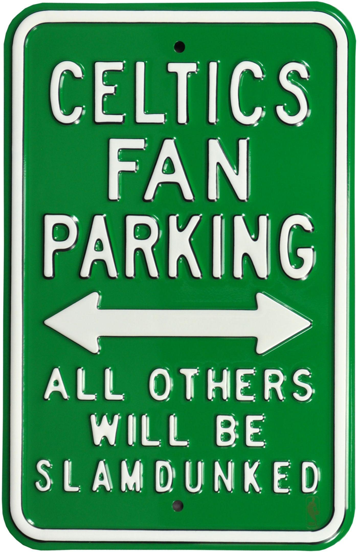 Authentic Street Signs Boston Celtics Parking Sign