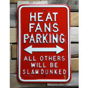 Authentic Street Signs Miami Heat Parking Sign