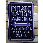 Authentic Street Signs East Carolina Pirates Parking Sign