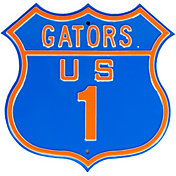 Authentic Street Signs Florida Gators Route Sign