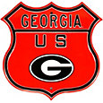 Authentic Street Signs Georgia Bulldogs Route Sign