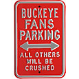 Authentic Street Signs Ohio State Buckeyes Parking Sign