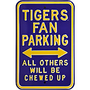 Authentic Street Signs LSU Tigers Parking Sign