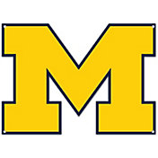Authentic Street Signs Michigan Wolverines Steel Logo Sign